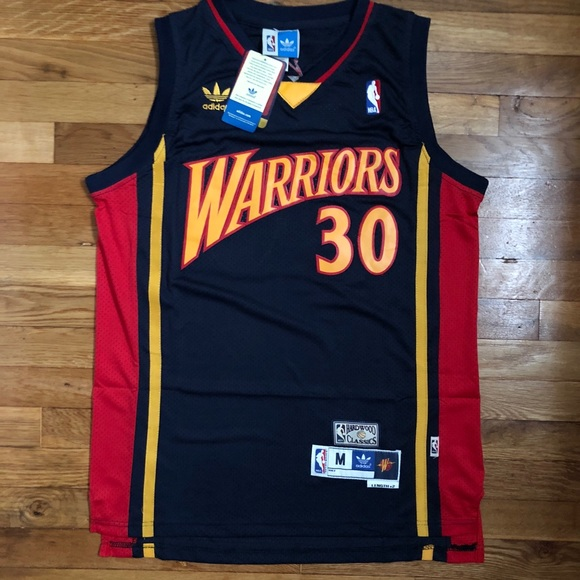 size 40 84f60 e7187 Steph Curry Golden State Warriors Retro Jersey NWT